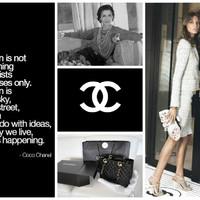 Kis fekete, fehér gyöngysor és kosztümök, naná, hogy Coco Chanel!