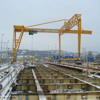 EXKLUZÍV: Az első pályaelemek a Margit hídon