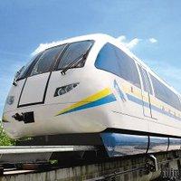 Kínai maglev vonat tesztelése