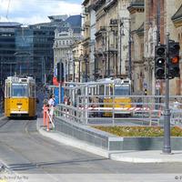 Metróépítés a Duna két partján