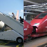 Nagysebességű vasút vs. repülő