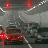 Közúti alagutak a Jangce alatt