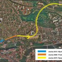 A prágai M0 új szakasza