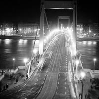 Villamos az Erzsébet hídon
