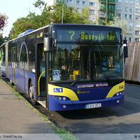 Neoplan buszt tesztel a BKV