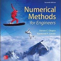Numerical Methods For Engineers (Civil Engineering) Steven C. Chapra Dr.
