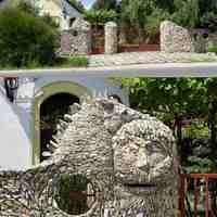 Kőparipa és sziklaóriás Úrhidán