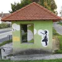 Banksy Iszkaszentgyörgyön (is)?