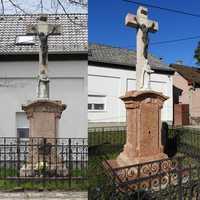Megújult a Széchenyi úti Radványi-Pap-kereszt