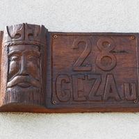 Géza a Géza utcában