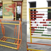 Biciklis street art-ok Fehérváron