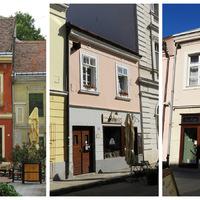 Aranyos pici házak a Belvárosban