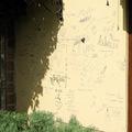 Idézetes fal a Kossuth udvarban