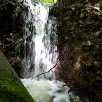Mini vízesés a Börzsönyben