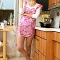Harisnya fétis a konyhában