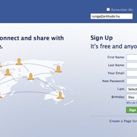Facebook belépés és nyitóoldal