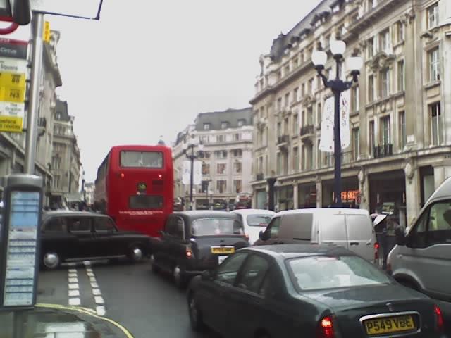 Regent Street, forgalom