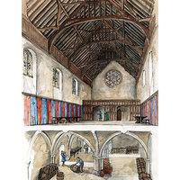 Winchester palota romjai, /London Bridge, London, 33