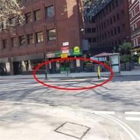 Különös utca a föld alatt / A weird street below ground level, Charing Cross, London, 117