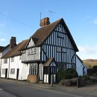 Eynsford falu környéke, régi házai, / Eynsford, Kent, UK, 72