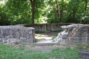Pálos kolostor romjainak az őrtornya (1/2) / Szépjuhászné, Budapest, 89