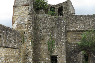 Wolvesey várkastély romjai, /Winchester, UK, 43
