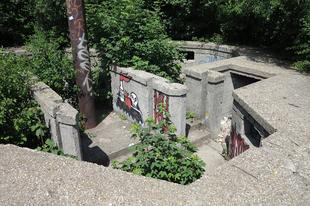 Hármashatárhegyi bunker belseje, / Hármashatárhegy, Buda, 94