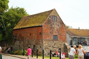 Középkori malom / Christchurch (Twynham), Dorset, UK, 105