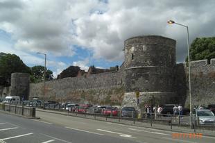 Római fallal körülvett város, Canterbury, /UK, 28