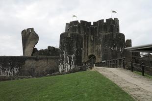 Wales legnagyobb vára / Caerphilly, Wales, 84