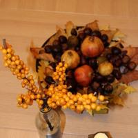 Őszi asztaldekor