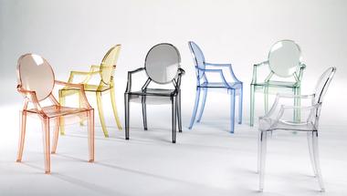 sTÍluSoK és fOrMák - Louis Ghost Chair