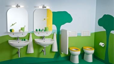 Gyerekfürdőszobák