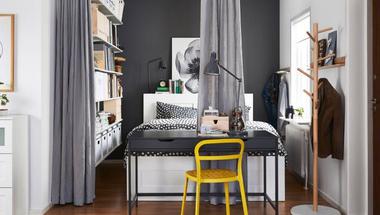 Hálószoba berendezés - Megoldások apró (háló)szobákba