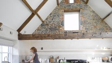 Padlás helyett nyitott tetőtér megoldások