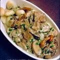 Erdei gombás gnocchi ( gyors vacsi )