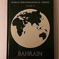 }READ} Bahrain (World Bibliographical Series). Humanos Safety narmin charger iridio explora