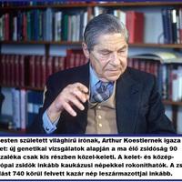 Arthur Koestler szerint a