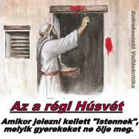 Jahve húsvéti piros festéke