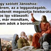 Jézus, a Róka, a Sajt meg a Bor