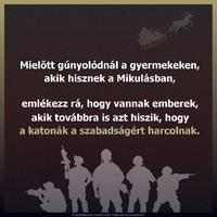 Mikulás vs katonaság