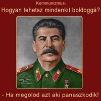 Sztálin boldoggá tesz