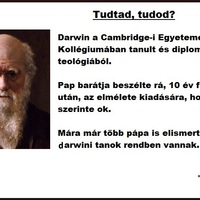 Darwin teológiát végzett