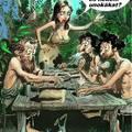 Káin és Ábel szüleikkel