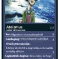 Ateizmus vallási kártyán