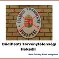 Fővárosi Törvényszék neve helyesen Büdipesti Törvénytelenségi Hokedli