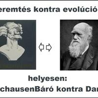 Teremtés kontra evolúció ?