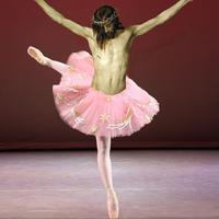 Hippi balettszoknyában