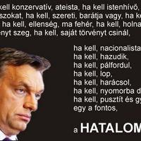 Orbán Viktor vallása a Hatalom