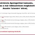 Konklúzió a Kálvinista Apologetika logikájáról